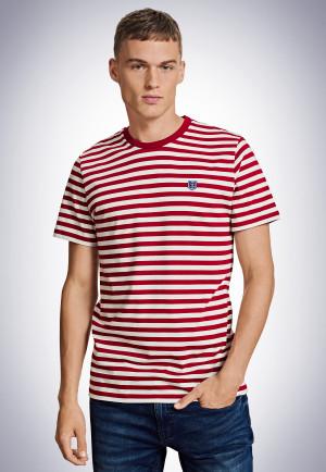 Shirt kurzarm rot - Revival Georg