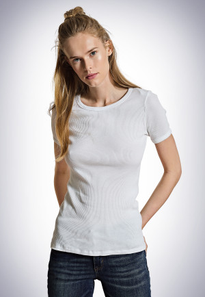 Shirt kurzarm weiß - Revival Greta
