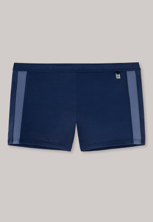 Retro swim shorts dark blue - Aqua