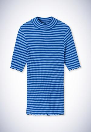 Shirt kurzarm indigo - Revival Helena