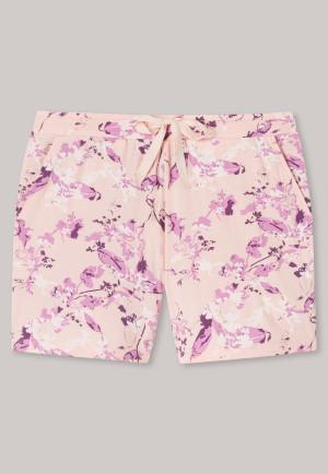 Shorts Tencel Blumen sorbet - Mix+Relax